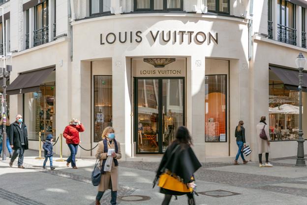 L'emménagement, en novembre dernier, de Louis Vuitton dans l'ancien magasin Bonn illustre l'appétit des marques haut de gamme pour les emplacements de premier choix. (Photo: Romain Gamba/Maison Moderne)