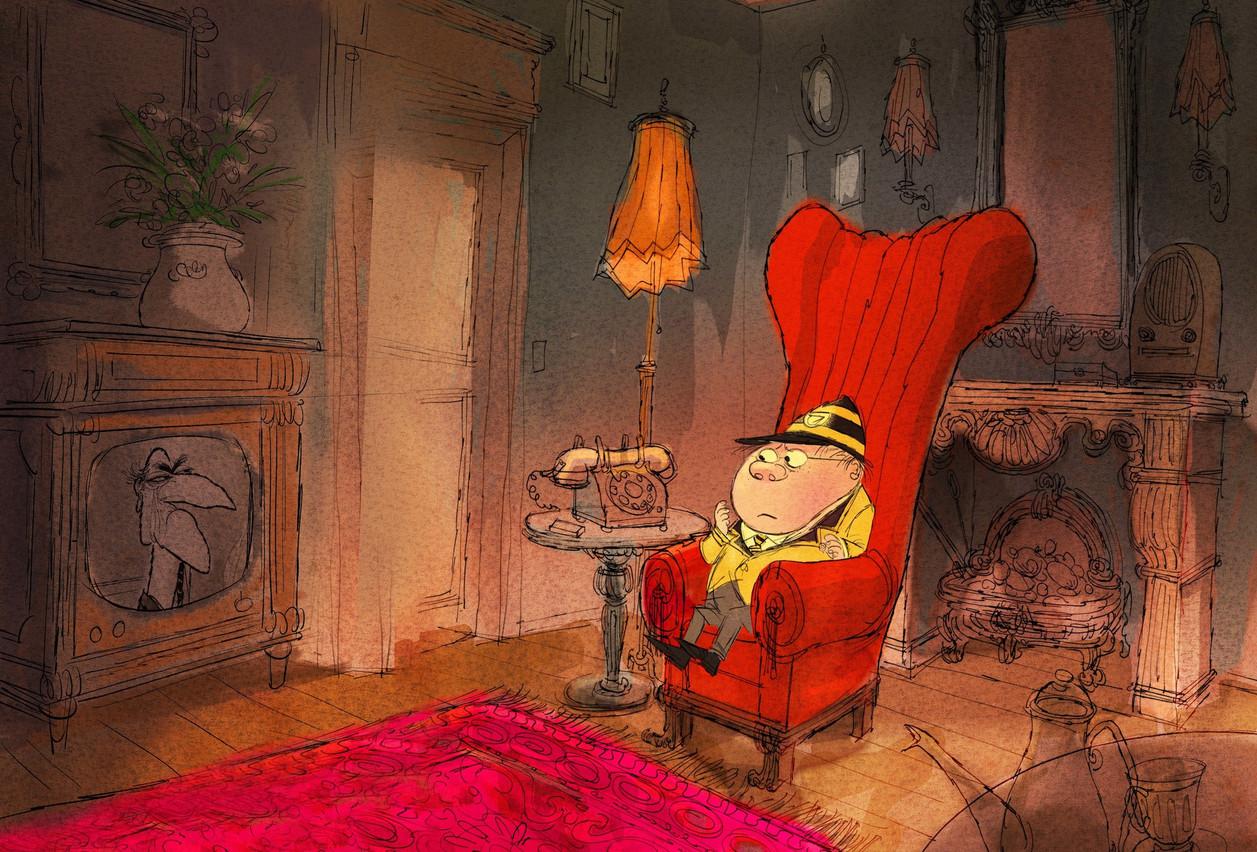 Le film «Molesworth», un projet en développement, sera pitché au Cartoon Movie de Bordeaux. (Illustration: Melusine Productions)