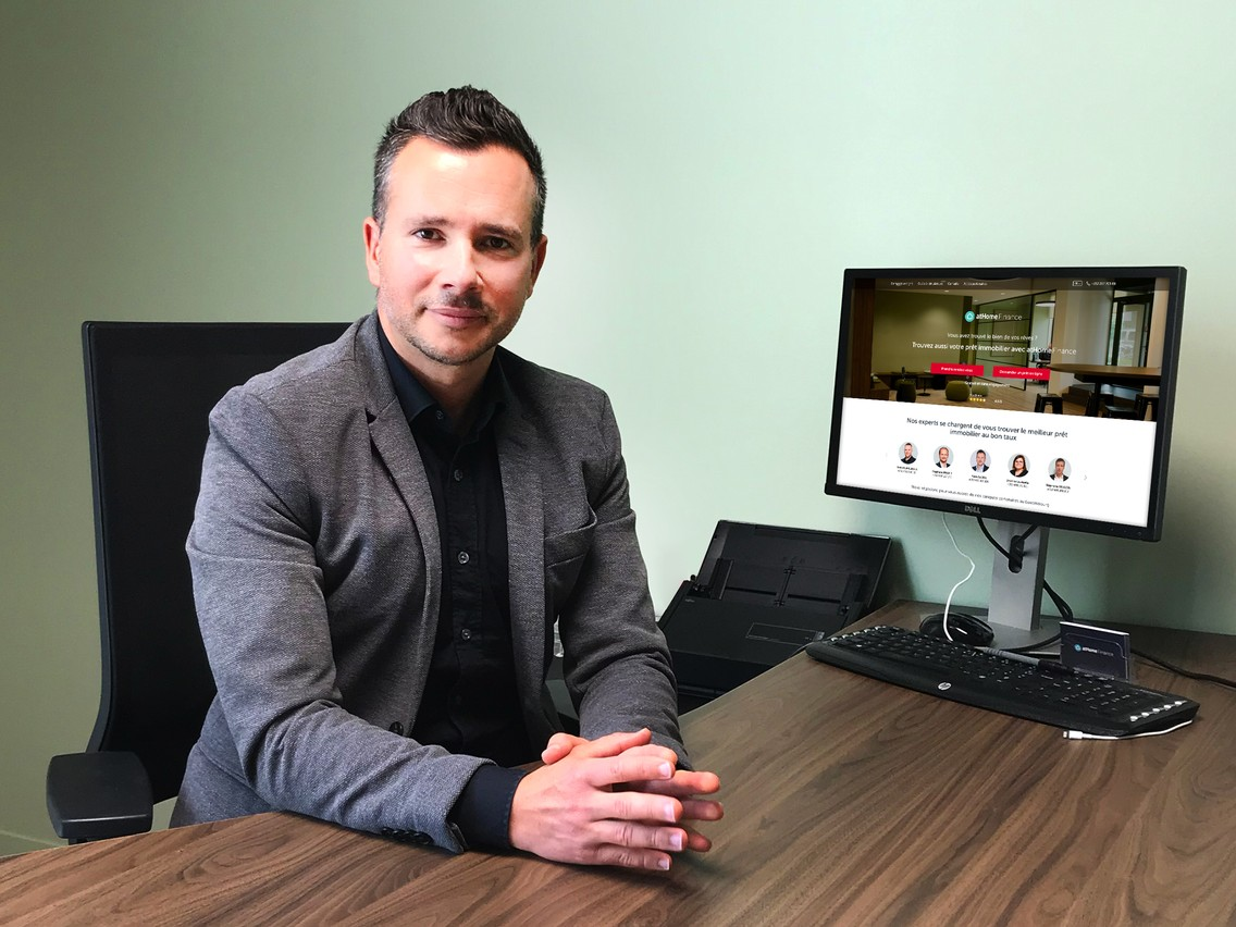 Yann Gadea, Manager atHomeFinance . (Photo: atHomeFinance )