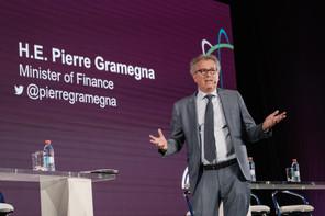 « Le Luxembourg a été parmi les premiers pays à présenter son plan pour la reprise et la résilience, en avril » ,a rappelé PierreGramegna. (Photo: Marion Dessard)