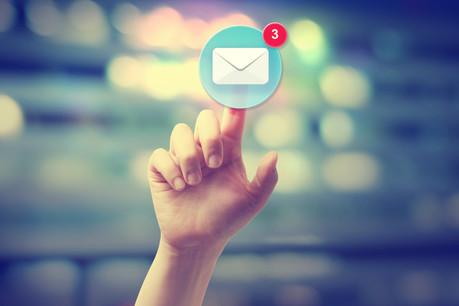 Le cloud est, pour l'instant, largement utilisé pour la gestion des courriers électroniques des entreprises de plus de 10 personnes. (Photo: Shutterstock)