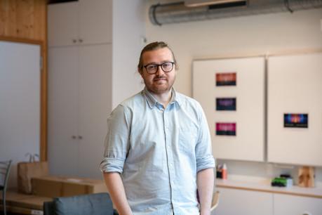 L'entrepreneur Joost van Oorschot s'est rendu à l'Université internationale de l'espace pour développer l'idée de Maana Electric. (Photo: Romain Gamba / Maison Moderne)