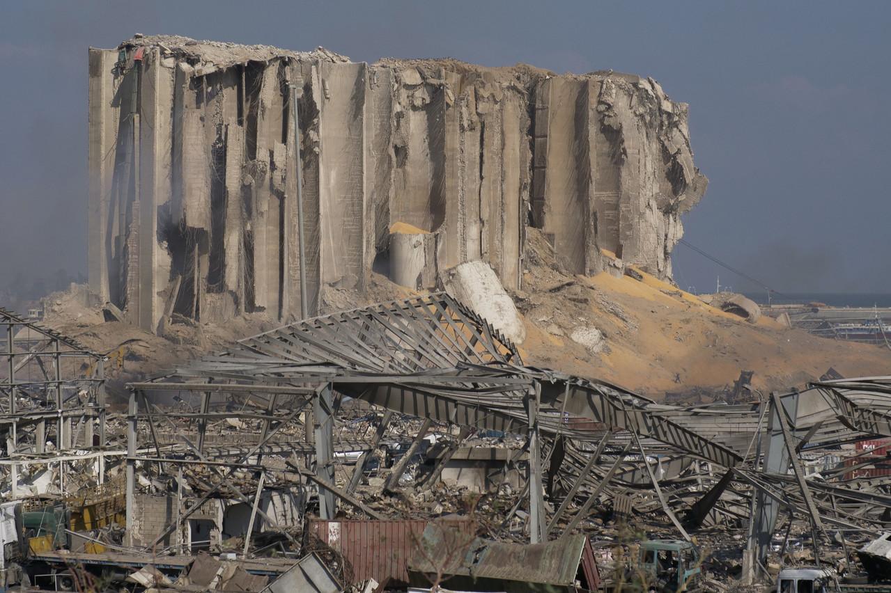 La double explosion survenue mardi 4 août 2020 au port de Beyrouth a déjà fait plus de 130 morts et 5.000 blessés. (Photo: Shutterstock)