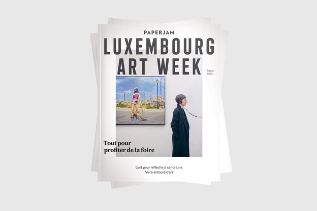 En format booklet, ce supplément accompagne tous les amateurs d'art. (Photo: Maison Moderne)