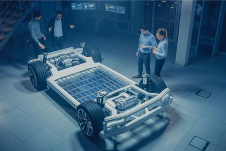 D'où viendra la batterie qui équipera les voitures électriques de demain? Un match à quatre est lancé, le dernier des sprinteurs, Freyr Battery, ayant été préparé au Luxembourg. (Photo: Shutterstock)