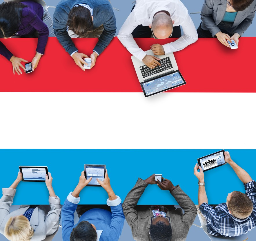 Luxembourg National Flag Government Freedom LIberty Concept Rawpixel.com/Shutterstock.
