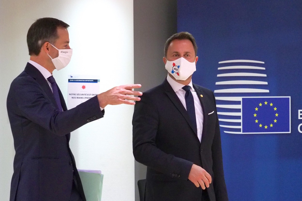 The 11th Gäichel Summit will bring together the Belgian and Luxembourg governments under prime ministers Xavier Bettel (r.) and Alexander De Croo Photo: EU/Archives