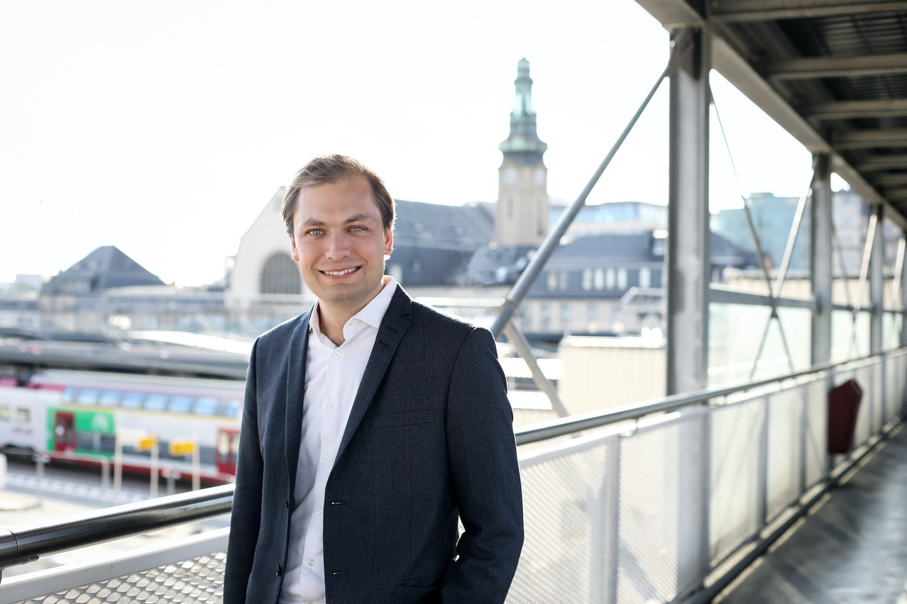 """François Benoy: """"Today, we have the highest per capita rail investment in Europe by far, and the quality of our public transport has already significantly improved."""" (Photo: DR)"""