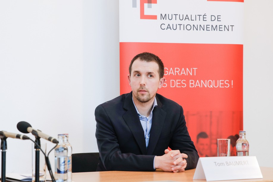 Tom Baumert joined the Luxembourg Chamber of Commerce in 2013 and has been CEO of the House of Entrepreneurship since 2016. Photo: Romain Gamba/Maison Moderne