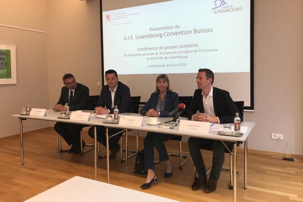 François Lafont, à gauche de l'image, est devenu le CEO du GIE Luxembourg Convention Bureau. (Photo: Paperjam)