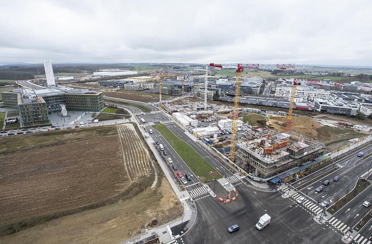 Le Financial Times dresse le portrait du nouveau Luxembourg en construction. (Photo: Anthony Dehez / archives Maison Moderne)