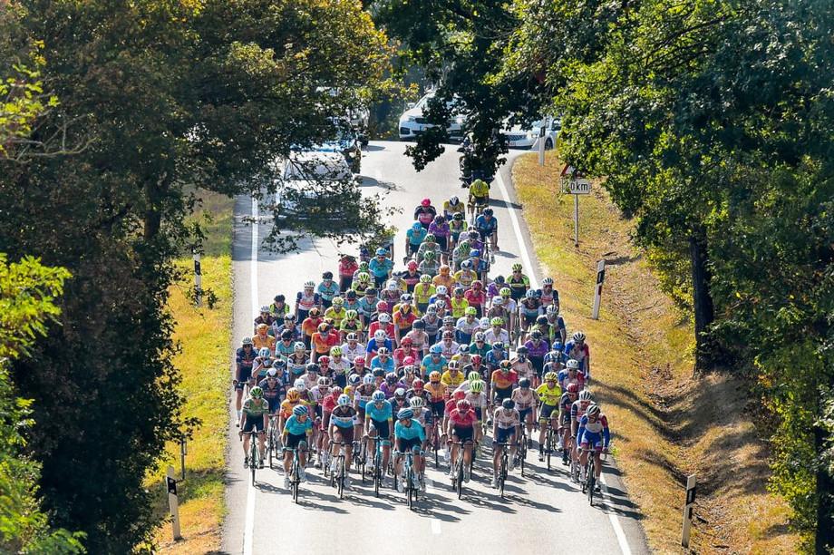 Riders in last year's Tour de Luxembourg Photo: Skoda Tour de Luxembourg