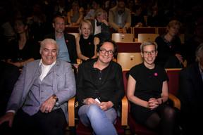 Frank Stephenson, Laurent Graas (Lola), Sam Tanson (Ministre de la Culture) ((Photo: Blitz Agency))