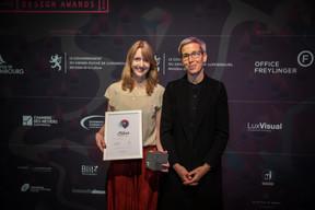 Nadine Clemens (Casino Luxembourg) et Sam Tanson (Ministre de la Culture) ((Photo: Blitz Agency))