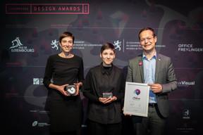 Daniela Arede (Rotondes), Julie Wagener et Olivier Laidebeur (Office Freylinger) ((Photo: Blitz Agency))