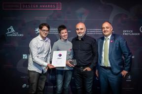 Prix Silver pour «Motion Design», Binsfeld ((Photo: Blitz Agency))