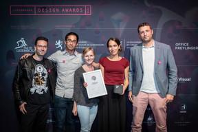 Prix Silver pour «Print Design», Rose de claire, design ((Photo: Blitz Agency))
