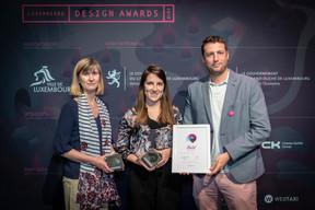 Prix Gold pour «Print Design», Vidale Gloesener ((Photo: Blitz Agency))