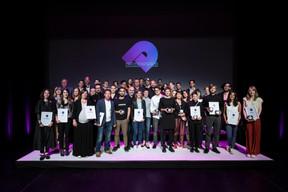 Les lauréats de la troisième édition des Luxembourg Design Awards ((Photo: Blitz Agency))