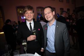 Davor Bruketa (Bruketa&Žinić&Grey) et Olivier Laidebeur (Office Freylinger) ((Photo: Blitz Agency))