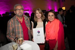 Mike Koedinger (Maison Moderne), Nadine Clemens (Casino Luxembourg) et Anna Loporcaro (Mudam) ((Photo: Blitz Agency))