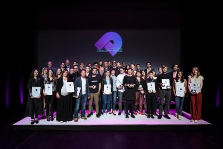 Les lauréats de la troisième édition des Luxembourg Design Awards (Photo: Blitz Agency)