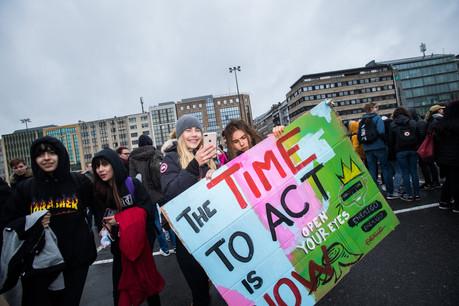 Au Luxembourg, les jeunes se sont déjà mobilisés à plusieurs reprises en faveur du climat. (Photo: Nader Ghavami/Archives)