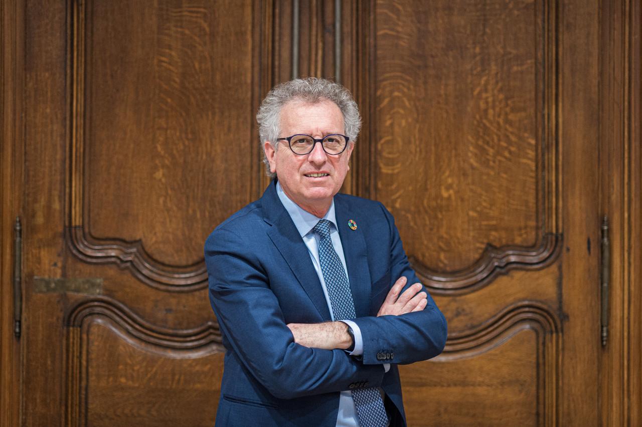 Le ministre des Finances, Pierre Gramegna, se «réjouit  du succès de cette opération ». (Photo: Mike Zenari)