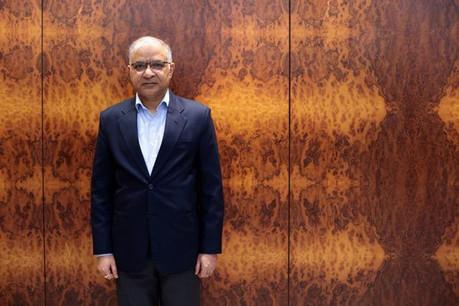 Santosh Jha: «Nous sommes en train d'adopter une loi sur la protection des données en Inde qui est basée sur le RGPD, pas tout à fait identique, mais très similaire.» (Photo: Matic Zorman/Maison Moderne)