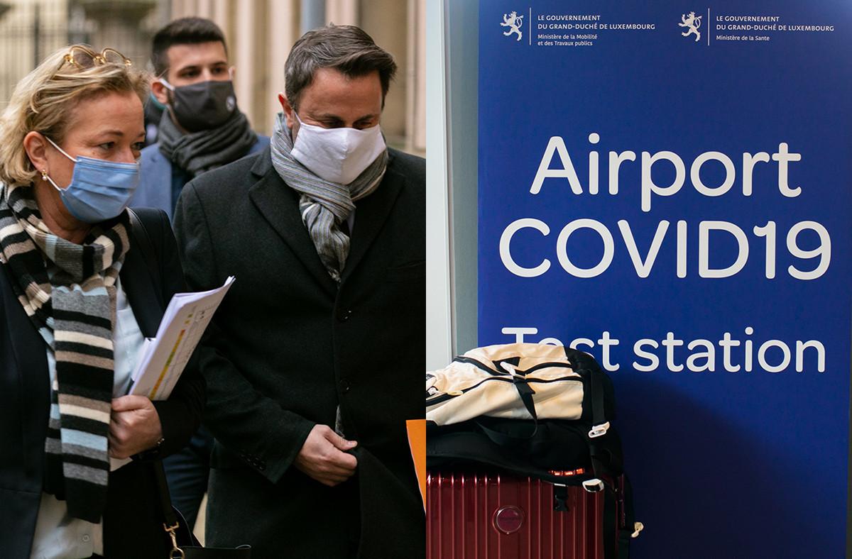 Les voyageurs débarquant à l'aéroport de Luxembourg devront présenter un test négatif à partir du 29 janvier et au moins jusqu'au 28 février. (Photos: Maison Moderne)