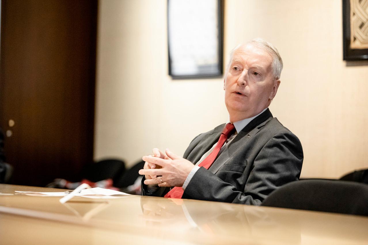 Claude Wirion, Directeur du Commissariat aux Assurances. (Photo: Jan Hanrion / Maison Moderne Publishing SA)