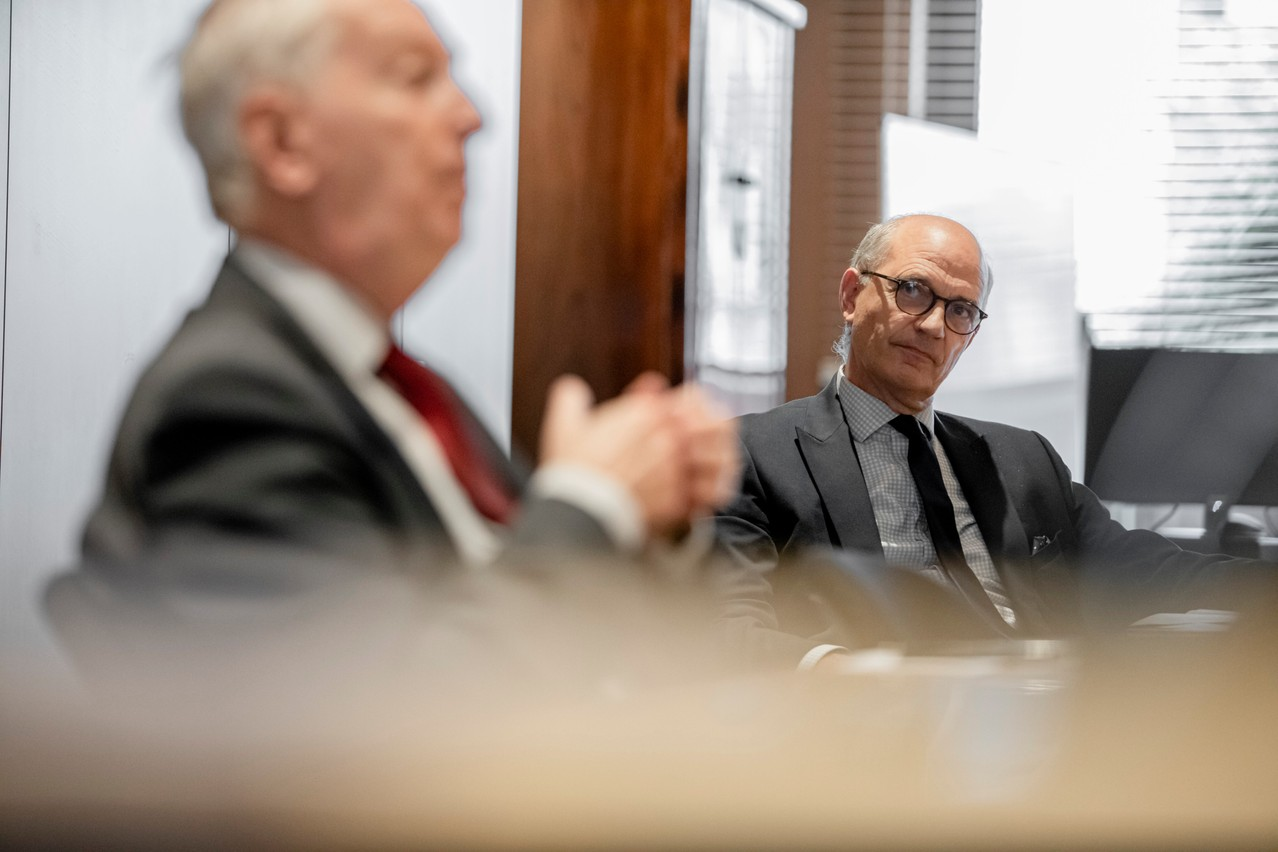 Guy Van den Bosch, Chief Executive Officer CALI Europe. (Photo: Jan Hanrion / Maison Moderne Publishing SA)