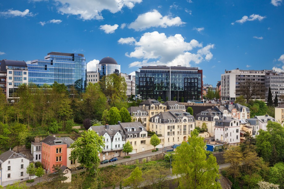View of Luxembourg City, one of the top five cities in the world for attracting talent, according to the Global Talent Competitiveness Index Photo: Shutterstock
