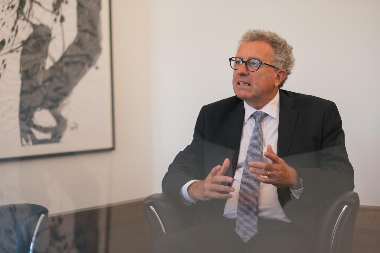 Le ministre des Finances, Pierre Gramegna, insiste sur le rôle de pionnier que le Luxembourg doit pouvoir jouer dans la finance durable. (Photo: Maison Moderne/archives)