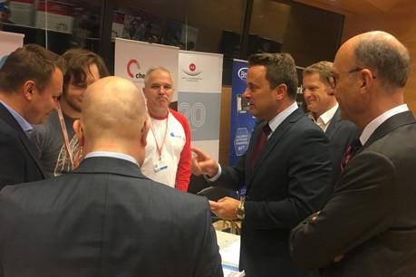 Les Luxembourg Internet Days, un événement où le Premier ministre, XavierBettel, aime prendre le temps de rencontrer les entrepreneurs. La version en ligne a déjà enregistré près de 800inscriptions. (Photo: Paperjam)