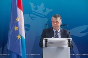 Discours du directeur exécutif d'EuroHPC JU,Anders Dam Jensen. ((Photo: Matic Zorman / Maison Moderne))