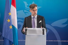 Le ministre de l'Économie, Franz Fayot. ((Photo: Matic Zorman / Maison Moderne))