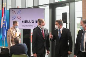 Le Grand-Duc Henri été également présent pour l'inauguration.  ((Photo: Matic Zorman / Maison Moderne))