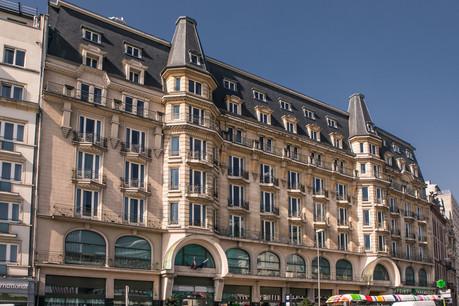 L'ancien hôtel Alfa n'est pas encore près de rouvrir ses portes sous l'enseigne Marriott. (Photo: Edouard Olszewski)