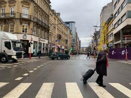 L'avenue de la Gare connaît ces derniers mois une succession de fermetures de boutiques. ((Photo: Maison Moderne))
