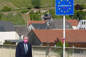 Chiffres à l'appui, le ministre des Affaires étrangères et européennes Jean Asselborn demande à l'Allemagne de revoir son appréciation sur les voyageurs en provenance du Grand-Duché (Photo: SIP / Jean-Christophe Verhaegen)