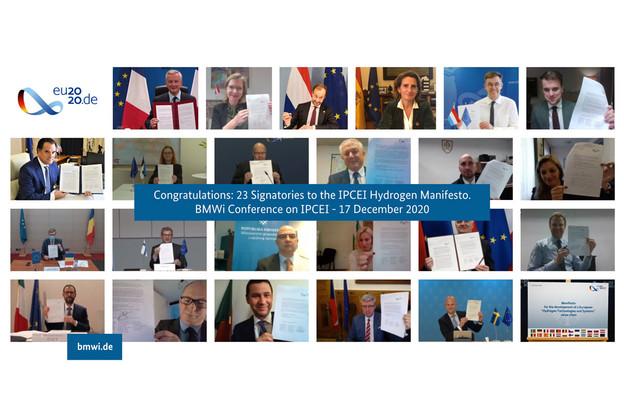 22 ministres européens et la Norvège ont signé le manifeste voici quelques jours. (Photo: Ministère fédéral allemand de l'Économie et de l'Énergie)