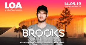 Brooks sera un des invités étrangers du Luxembourg Open Air. ((Affiche: Luxembourg Open Air))