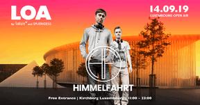 Le duo Himmelfahrt  sera un des invités étrangers du Luxembourg Open Air. ((Affiche: Luxembourg Open Air))