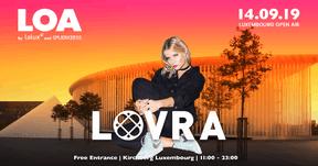Lovra sera une des invités étrangers du Luxembourg Open Air. ((Affiche: Luxembourg Open Air))