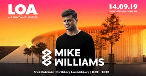 Mike Williams  sera un des invités étrangers du Luxembourg Open Air. ((Affiche: Luxembourg Open Air))