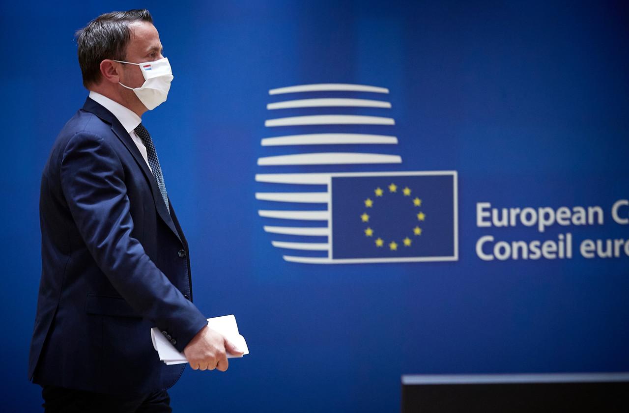 Le Premier ministre luxembourgeois XavierBettel était à Bruxelles la semaine dernière pour ce sommet, qui a duré au total quatre jours et quatre nuits. (Photo: Mario Salerno / Conseil européen)