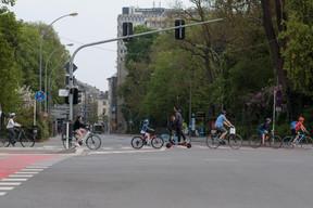 Les vélos sont de sortie. ((Photo: Matic Zorman / Maison Moderne))