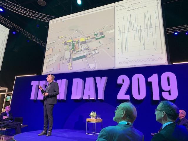 Le nouveau CEO du List, Thomas Kallstenius, a lancé l'idée d'un jumeau digital, basé sur des données, pour aider à trouver des solutions concrètes aux problèmes de la vie de tous les jours. Belval passe de l'idée à la réalisation. (Photo: Paperjam)