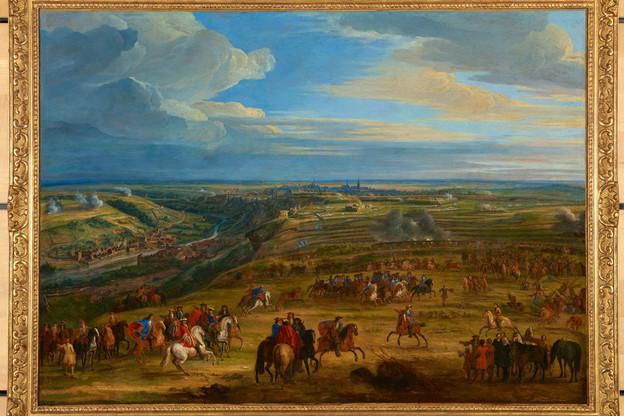 Jean-BaptisteMartin, «Le siège de Luxembourg en 1684», huile sur toile, 17 e siècle, collection Lëtzebuerg City Museum. (Photo:Lëtzebuerg City Museum)